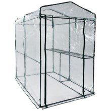 Arcadia Garden One-Sided Walk-In Greenhouse in See Photo - Closeouts