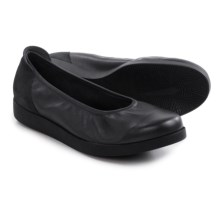 Arche Albame Ballet Flats (For Women) in Baltic Metallic/Nubuck - Closeouts