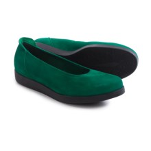 Arche Albame Ballet Flats (For Women) in Land Nubuck - Closeouts