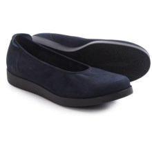 Arche Albame Ballet Flats (For Women) in Navy Nubuck - Closeouts