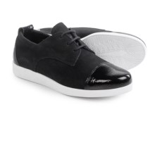 Arche Albiro Sneakers - Nubuck (For Women) in Black - Closeouts