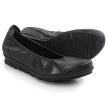Arche Baryam Nubuck Shoes - Nubuck, Slip-Ons (For Women) in Black - Closeouts