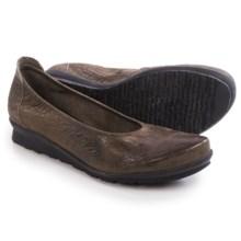 Arche Baryam Nubuck Shoes - Nubuck, Slip-Ons (For Women) in Grey - Closeouts