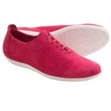 Arche Ceyzha Nubuck Shoes - Lace-Ups (For Women) in Hot Pink/White - Closeouts