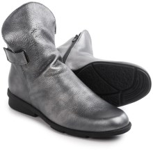 Arche Delzi Ankle Boots (For Women) in Silver Metallic - Closeouts