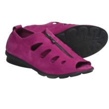 Arche Denzor Top Zip Sandals - Nubuck (For Women) in Fuschia - Closeouts