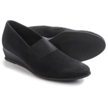 Arche Emyone Wedge Shoes - Nubuck (For Women) in Black - Closeouts
