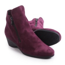 Arche Eolie Ankle Boots (For Women) in Berry Nubuck - Closeouts
