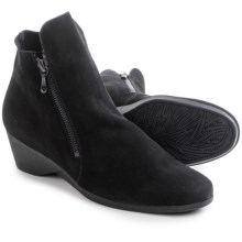 Arche Eolie Ankle Boots (For Women) in Black Nubuck - Closeouts