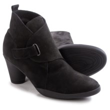 Arche Gradi Nubuck Ankle Boots (For Women) in Black - Closeouts