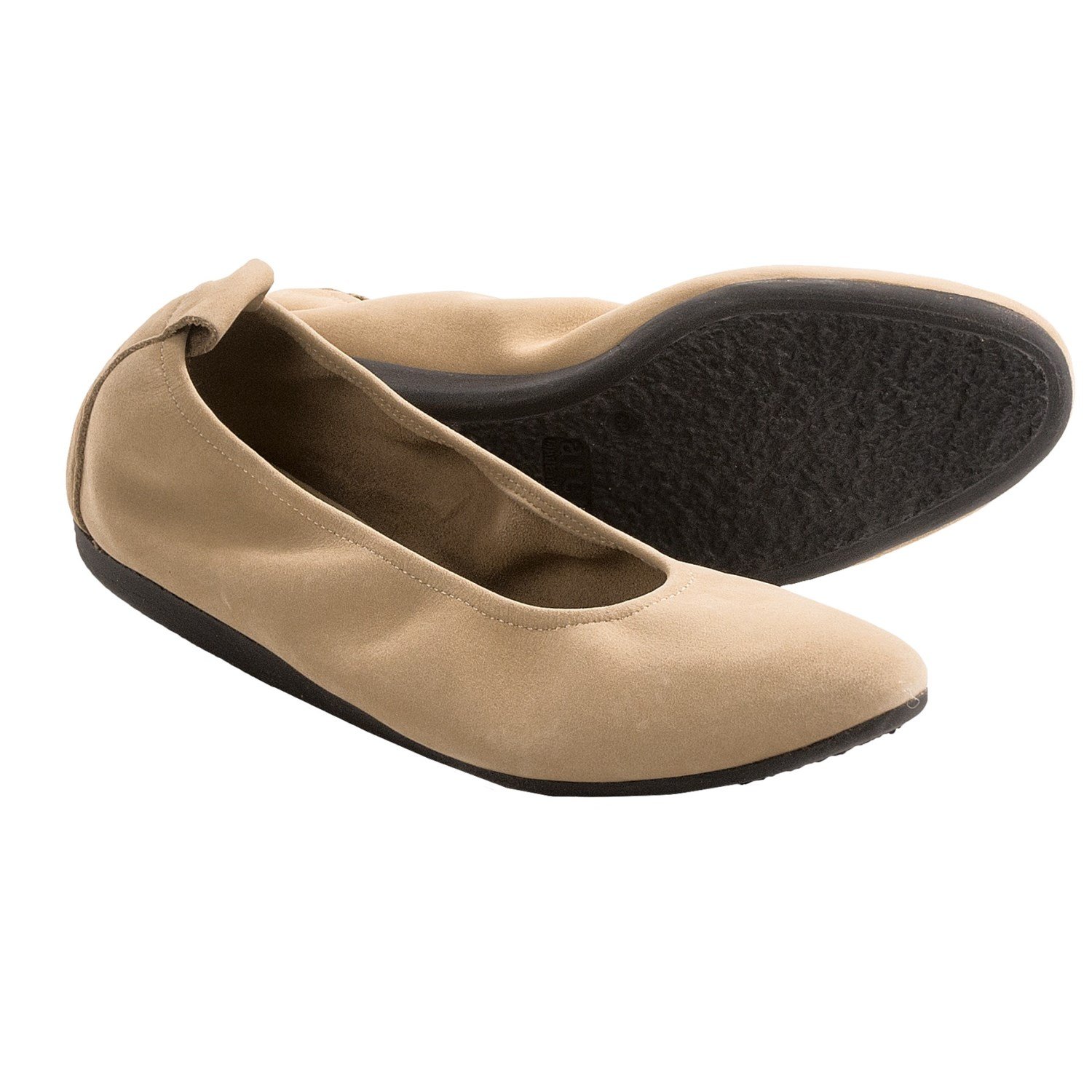 Arche Laius Nubuck Shoes - Slip-Ons (For Women) in Sable Nubuck