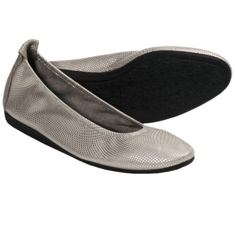 Arche Laius Shoes - Slip-Ons (For Women) in Silver