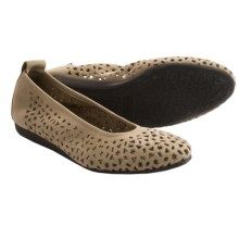 Arche Lilly Ballet Flats (For Women) in Sable Nubuck - Closeouts