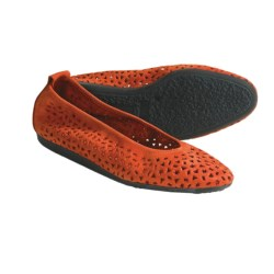 Arche Lilly Leather Flats (For Women) in Orange