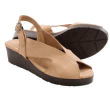 Arche Malysa Sandals - Sling-Backs (For Women) in Tan Nubuck - Closeouts