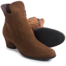 Arche Musaca Ankle Boots (For Women) in Brown Nubuck - Closeouts