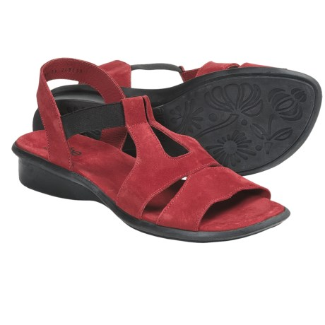Arche Savoy Sandals (For Women) in Red