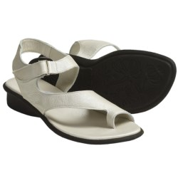 Arche Sushi Sandals - Nubuck (For Women) in White