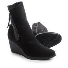 Arche Vitahe Wedge Boots - Nubuck (For Women) in Black - Closeouts