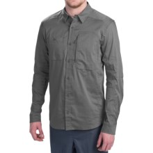 Arc'teryx A2B Button-Down Shirt - Long Sleeve (For Men) in Graphite - Closeouts