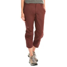 Arc'teryx A2B Chino Crop Pants (For Women) in Malbec - Closeouts