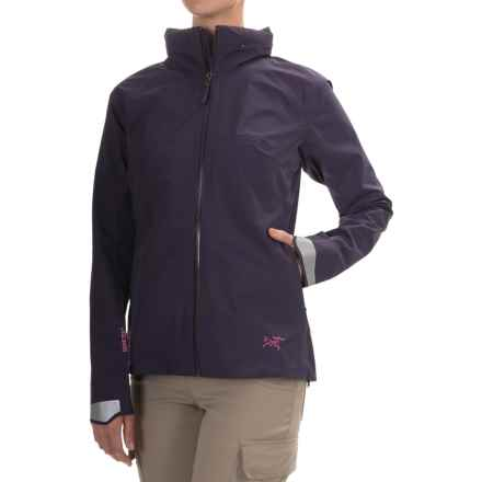 Arc'teryx A2B Commuter Gore-Tex® Jacket - Waterproof (For Women) in Raku - Closeouts