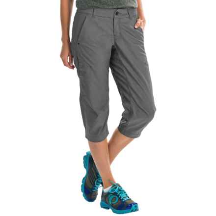 Arc'teryx A2B Commuter Long Bike Shorts (For Women) in Nautic Grey - Closeouts