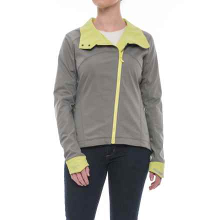 Arc'teryx A2B Commuter Soft Shell Jacket (For Women) in Brushed Nickel - Closeouts