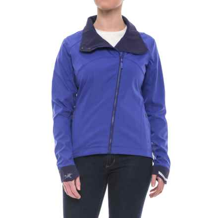Arc'teryx A2B Commuter Soft Shell Jacket (For Women) in Clematis - Closeouts