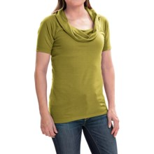 Arc'teryx A2B Shirt - Cowl Neck, Short Sleeve (For Women) in Opuntia - Closeouts