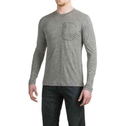 Arc'teryx A2B T-Shirt - Crew Neck, Long Sleeve (For Men) in Shale - Closeouts
