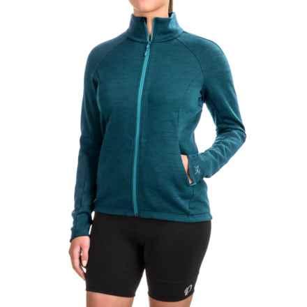 Arc'teryx A2B Vinta Cycling Jacket - Wool Blend, Zip Front ( For Women) in Dark Niagara - Closeouts