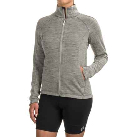 Arc'teryx A2B Vinta Cycling Jacket - Wool Blend, Zip Front ( For Women) in Gabbro Grey - Closeouts