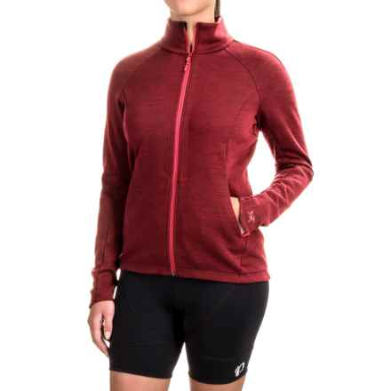 Arc'teryx A2B Vinta Cycling Jacket - Wool Blend, Zip Front ( For Women) in Rosa - Closeouts