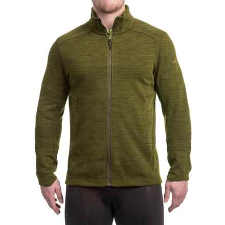 Arc'teryx A2B Vinton Jacket - Merino Wool (For Men) in Dark Moss - Closeouts
