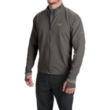 Arc'teryx Accelero Jacket (For Men) in Iron Anvil - Closeouts