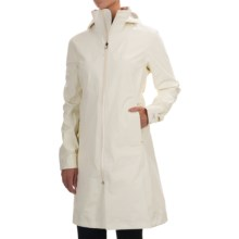 Arc'teryx Aphilia Gore-Tex® Coat - Waterproof, Windproof (For Women) in Vintage Ivory - Closeouts