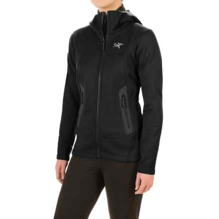 Arc'teryx Arenite Fleece Hoodie (For Women) in Black - Closeouts