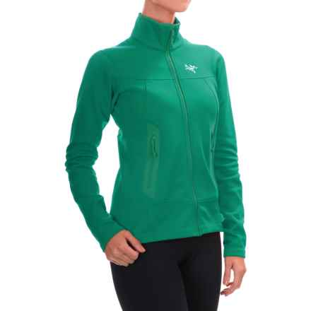 Arc'teryx Arenite Fleece Jacket (For Women) in Emerald Jade - Closeouts