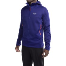 Arc'teryx Arenite Hooded Jacket - Full Zip (For Men) in Azul - Closeouts