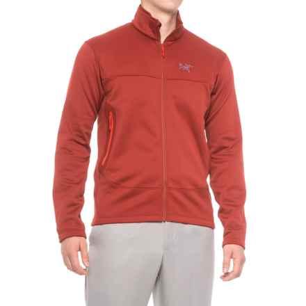 Arc'teryx Arenite Jacket - Full Zip (For Men) in Sangria - Closeouts
