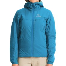 Arc'teryx Atom AR Hooded Jacket - Insulated (For Women) in Aegean Blue - Closeouts