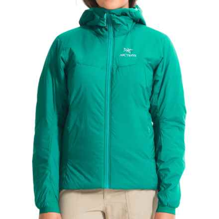 Arc'teryx Atom AR Hooded Jacket - Insulated (For Women) in Castaway - Closeouts