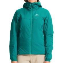 Arc'teryx Atom AR Hooded Jacket - Insulated (For Women) in Malachite - Closeouts