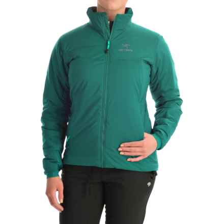 Arc'teryx Atom AR Jacket - Insulated (For Women) in Malachite - Closeouts