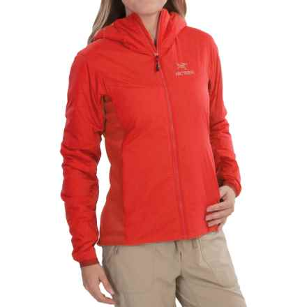 Arc'teryx Atom LT Hooded Jacket - Insulated (For Women) in Firefly - Closeouts