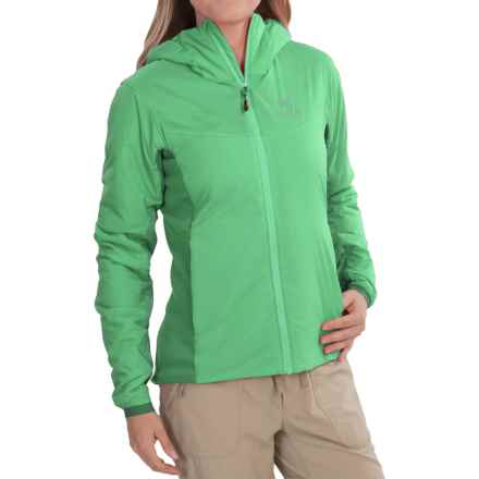 Arc'teryx Atom LT Hooded Jacket - Insulated (For Women) in Lime Fizz - Closeouts