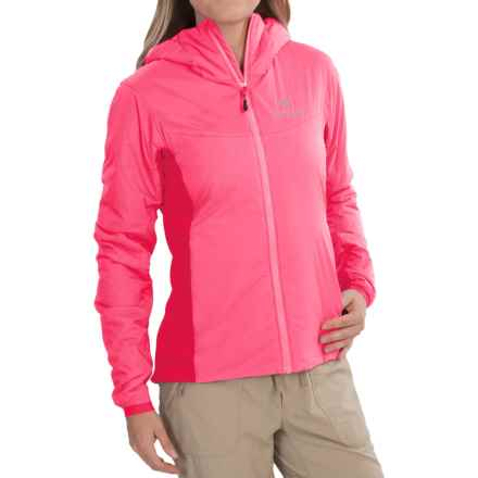 Arc'teryx Atom LT Hooded Jacket - Insulated (For Women) in Pink Guava - Closeouts