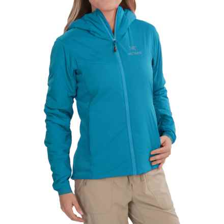 Arc'teryx Atom LT Hooded Jacket - Insulated (For Women) in Vultee Blue - Closeouts