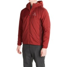 Arc'teryx Atom LT Hooded Jacket - Polartec® Power Stretch®, Insulated (For Men) in Oxblood - Closeouts